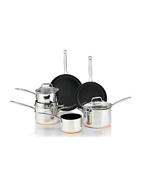 Stainless Steel Pan Set
