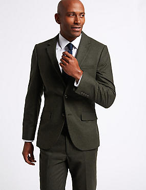 Textured Tailored Fit Suit, , catlanding