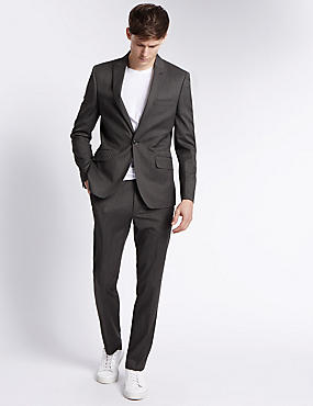 Charcoal Modern Slim Fit Suit
