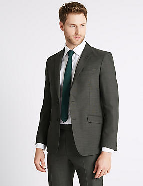 Grey Slim Fit Suit, , catlanding