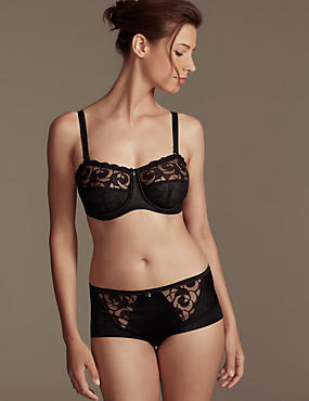 Luxury Embroidered Set Non-Padded Underwired with DD-G