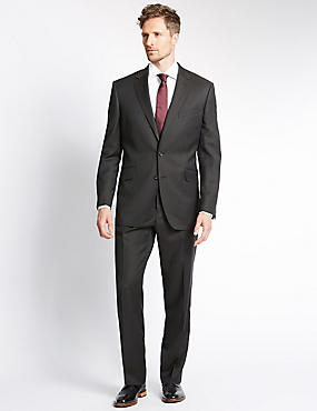 Big & Tall Brown Regular Fit Suit