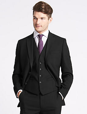Black 3 Piece Suit, , catlanding