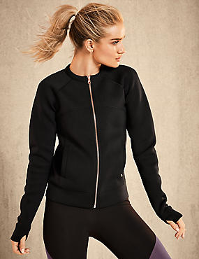 Active Bomber Jacket & Leggings Set