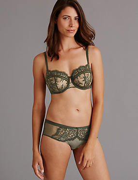 Dentelle Lace Set with Non Padded Balcony DD-G