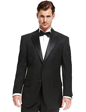 Black Regular Fit Dinner Suit