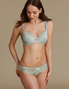 Sumptuously Soft Set with Padded Full Cup A-E