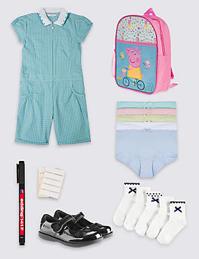 Girls' Traditional School Outfit
