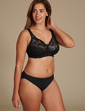 Total Support Lace Set with Full Cup B-G, , catlanding