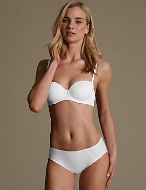 Sumptuously Soft Set with Ultimate Comfort Strapless A-D