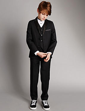 Notch Lapel 2 Button Suit (5-14 Years)