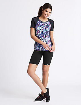 Ombre T-Shirt & Shorts Outfit, , catlanding