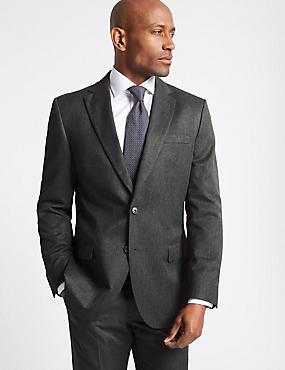 Big & Tall Grey Regular Fit Suit, , catlanding