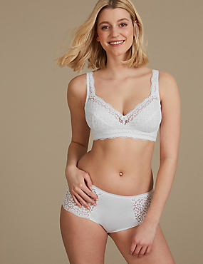 Vintage Lace Set with Full Cup A-DD