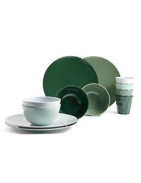 Melamine Green Picnic Collection, , catlanding