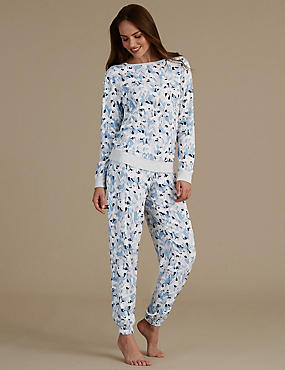 Printed Long Sleeve Pyjama Set