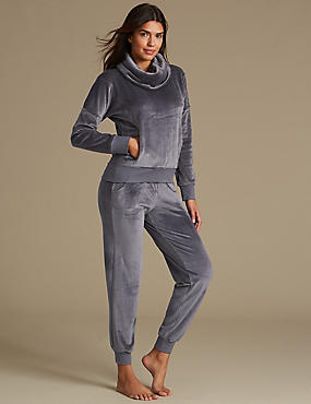 Fleece Long Sleeve Pyjama Set