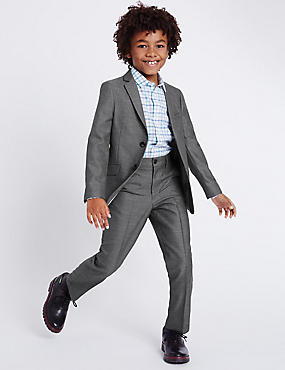 Classic Notch Lapel 2 Button Suit (3-14 Years)