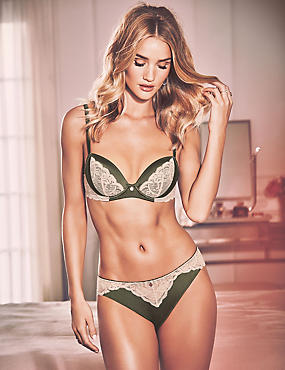 Silk & Lace Set with Balcony A-E