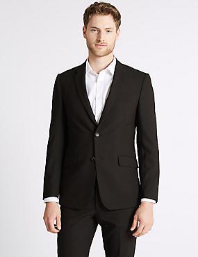 Brown Slim Fit Suit, , catlanding