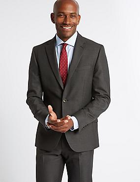 Charcoal Tailored Fit Suit, , catlanding