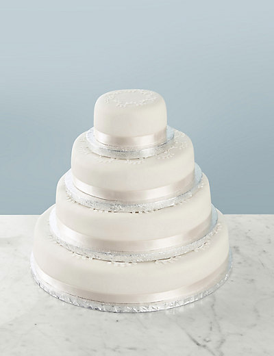 Traditional Wedding Cake Create Your Own Fruit Sponge Or Chocola - Create Your Wedding Cake