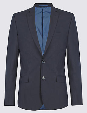 Navy Superslim Suit