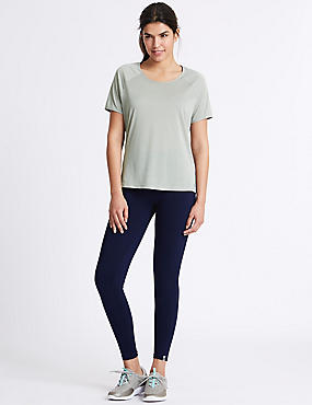 Crossback T-Shirt & Leggings Outfit, , catlanding