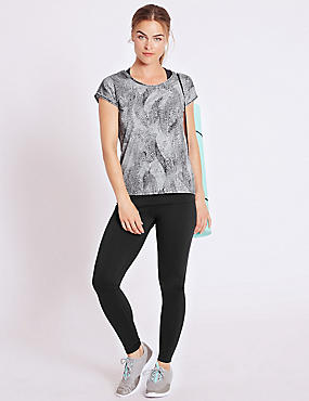 Double Layer Top & Leggings Set