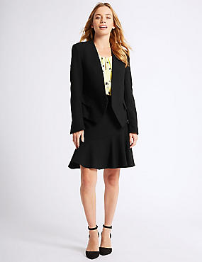 PETITE Blazer, Jacket & Skirt Suit Set