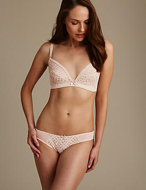 Trellis Lace Set with Wired Non Padded A-C