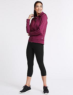 Hooded Top & Leggings Outfit, , catlanding