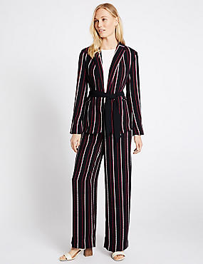 Striped Jacket & Trousers Set