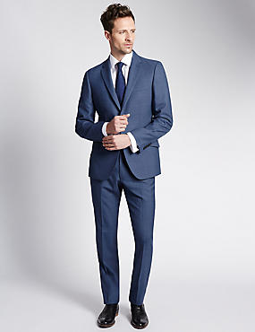 Ultimate Performance Blue Tailored Fit Suit