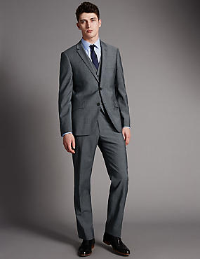 Big & Tall Grey Tailored Fit Suit