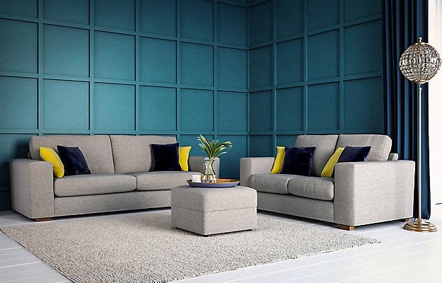 Sofa Amp Chairs Brindon Charcoal Sofa Loveseat 53901 38 35