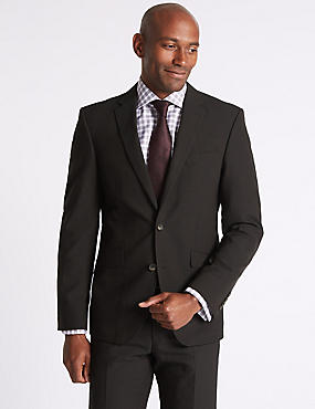 Brown Tailored Fit Suit, , catlanding