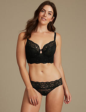 Lace Set with Non-Padded Full Cup B-DD