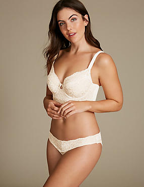 Lace Set with Full Cup B-DD