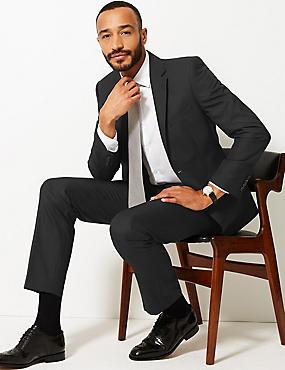 Black Tailored Fit Suit, , catlanding