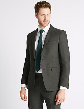 Big & Tall Grey Slim Fit Suit