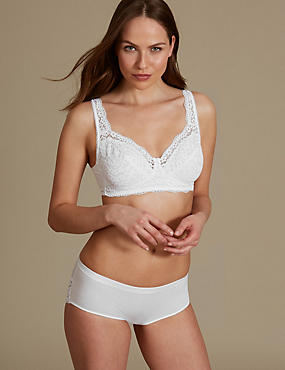 Lace Set with Non Padded Full Cup AA-DD