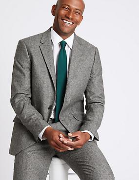 Textured Tailored Fit Suit, , catlanding