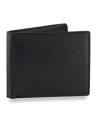 Leather Bilfold Wallet Clothing