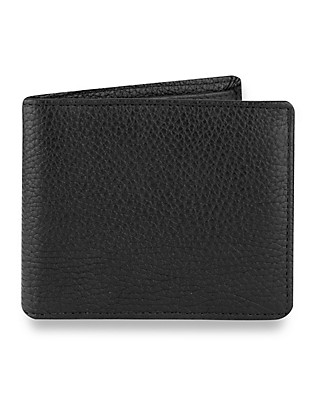 Luxury Leather Billfold Wallet Clothing