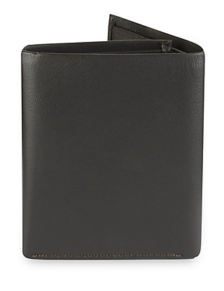 Leather Tri-Fold Wallet Clothing