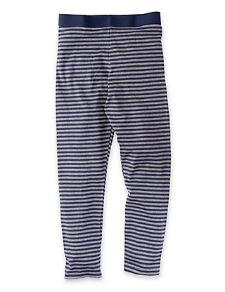 Heatgen™ Striped Thermal Long Pants (5-14 Years) Clothing