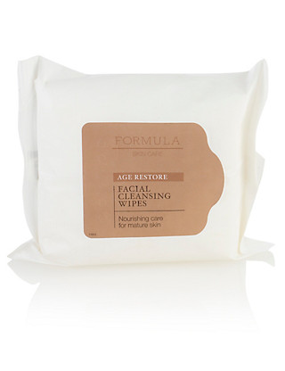 Age Restore Facial Cleansing Wipes Home