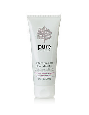 Pure Daily Skincare Instant Radiance Skin Exfoliator 75ml