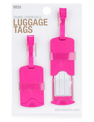 Travel Essentials Luggage Tags Home
